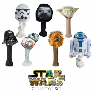 7pc Complete Star Wars Collectors 460cc Golf Head Cover Set