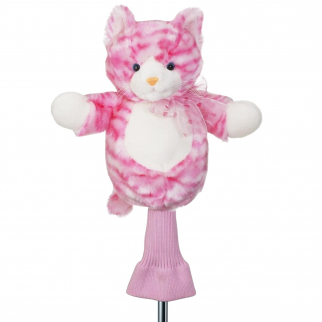 Candy the Cat Pink Plush 460cc Golf Head Cover