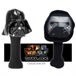 2pc Star Wars Darth Vader & Kylo Ren 460cc Golf Head Cover Set