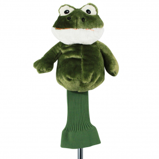 Fairway the Frog Green Plush 460cc Golf Head Cover