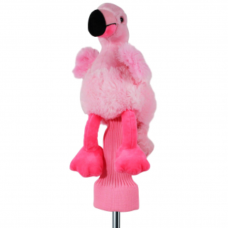 Freda the Flamingo Pink Plush 460cc Golf Head Cover