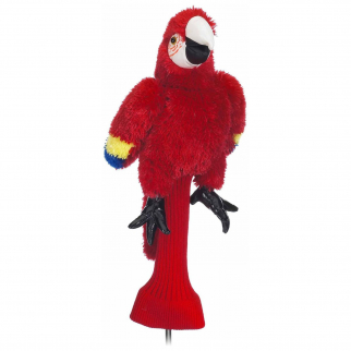 Parrot Red Plush 460cc Golf Head Cover