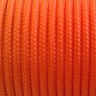 Spectra Sleeved Orange Kevlar Cord