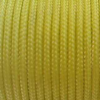 Spectra Sleeved Yellow Kevlar Cord