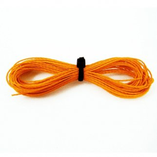 Kevlar Cord Survival Paracord Rope 200lbs Strength (Orange, 100ft)