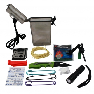 ASR Outdoor Waterproof Pocket Survival Kit