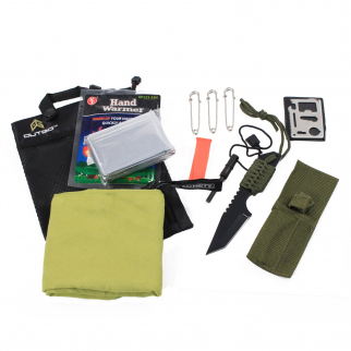 Outdoor Camping Survival Safety Kit ASR Safety and Emergency 12 Piece Kit