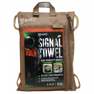 "Alternative Aerial Signal Device Features 24"" x 24"" Emergency Signal Panel"