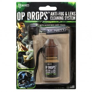 Tactical Op Drops Anti-Fog and Lens Cleaning System