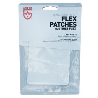 Gear Aid Tenacious Tape Max Clear Flex Stretch TPU Patches