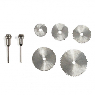 5pc High Speed Steel Rotary Saw Blades