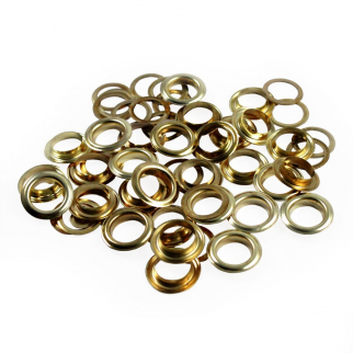 63pc Grommet Kit All Grommets Laid Out