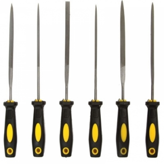 6pc Coarse Grit Hobby Steel File Tool Set