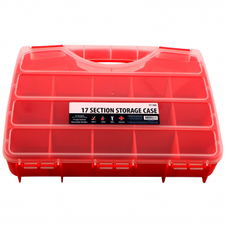 17 Compartment Small Bin Storage Container Locking Lid Portable Case