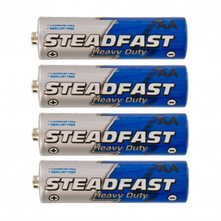 4pk Heavy Duty AA Steadfast Batteries
