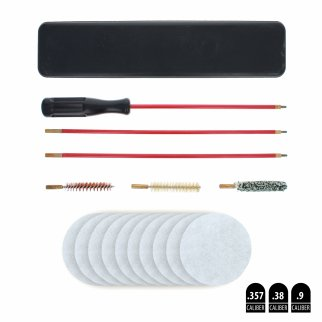 ASR Outdoor 6 Piece Gun Cleaning Kit With 10 Patches