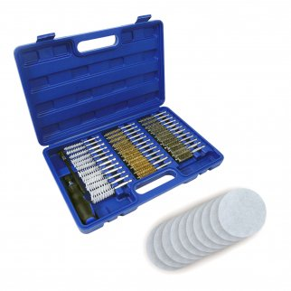 ASR Outdoor Gun Cleaning Kit in Plastic Case 48 Pieces