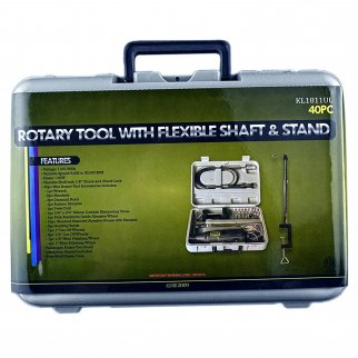 Rotary Tool with Flexible Shaft & Stand