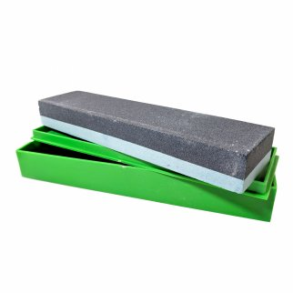 "ASR Outdoor 8"" Silicone Carbide Double Sided Whetstone Grits 180 and 240"
