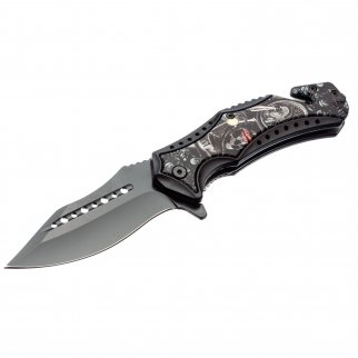 ASR Outdoor Clip Point Pocket Knife Zealot Design
