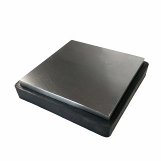 Universal Tool Rubber and Steel 6 x 6 Inch Bench Block