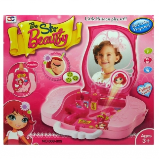 Little Princess Pretend Play Beauty Salon Cosmetic Case