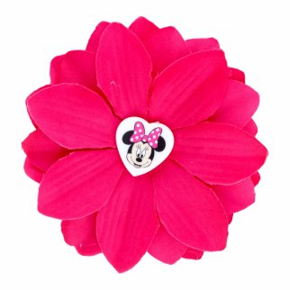 Minnie Mouse Purple Flower Hair Clip Accessory for Girls