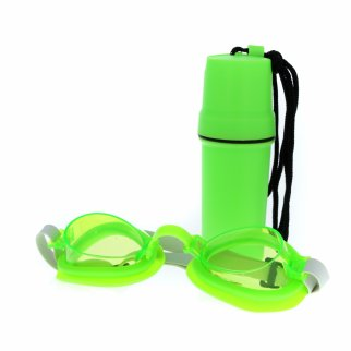 Kidplokio Kids Swimming Goggles Childrens Swimwear - Green