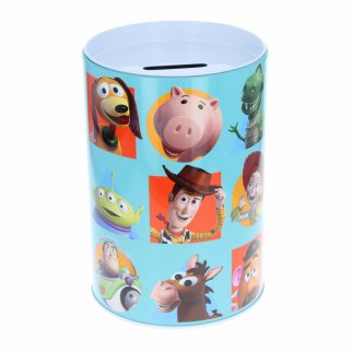 Disney Toy Story 4 Kids Tin Piggy Bank Learning Savings
