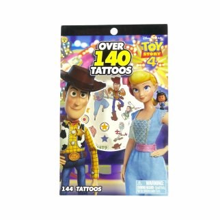 Disney Pixar Toy Story 4 Temporary Tattoo Book 4 Sheets