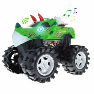 TychoTyke Kids Friction Powered Monster Truck Toy - Green