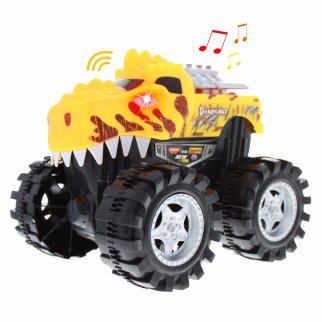 TychoTyke Kids Friction Powered Monster Truck Toy - Yellow