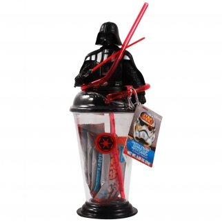 Disney Star Wars Sipper Cup with Candy Taffy - Darth Vader