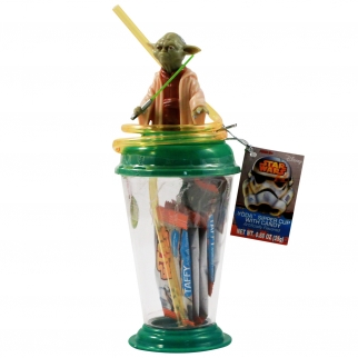 Disney Star Wars Sipper Cup with Candy Taffy - Yoda