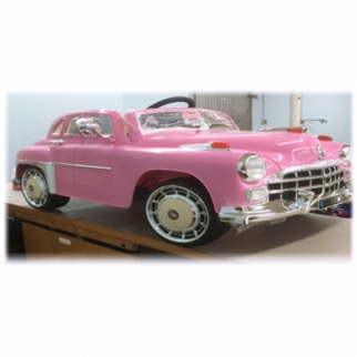1949 Classic Kids Battery Powered Ride On Car in Pink