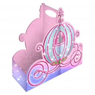 Disney Princess Snack Caddy Pink Carriage