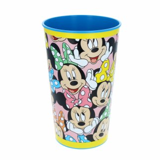 Disney Minnie Mouse Kids Plastic Drinking Cup Large 22 Ounce
