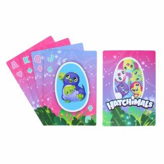 Hatchimals Kids Jumbo Playing Card Deck