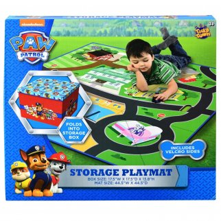 Paw Patrol Kids Tidy Town Storage Box Portable Playmat