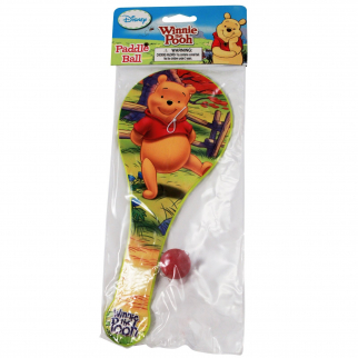 Disney Winnie-the-Pooh Paddle Ball Girls Boys Stocking Stuffer Classic Kids Toy