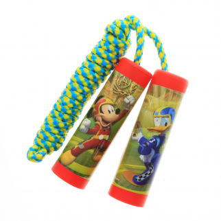 Disney Mickey Mouse Roadster Racers Jump Rope Kids Exercise Toy