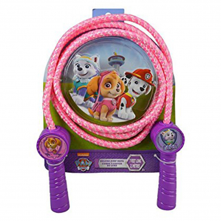 Paw Patrol Girls Deluxe Jump Rope Molded Handles