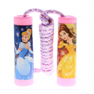 Disney Princess Belle With Cinderella Jump Rope Kids Exercise Toy