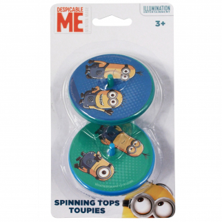 Minions Spinning Top 2pk Toy