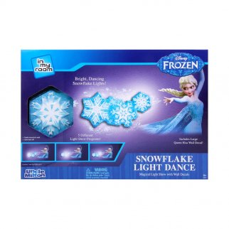 Disney Frozen Snowflake Light Dance Decoration Elsa Decal