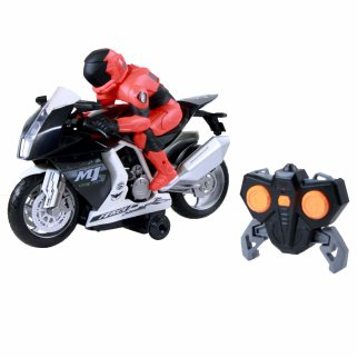 RC Motorcycle with Light and Sound Red