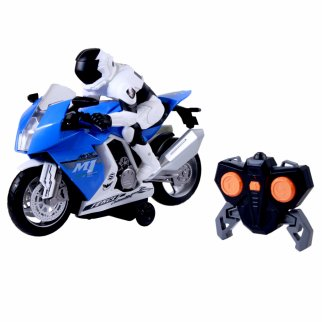 RC Motorcycle with Light and Sound Blue