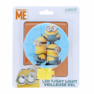 Minions Kids Adjustable Rotary Plug-in Night Light