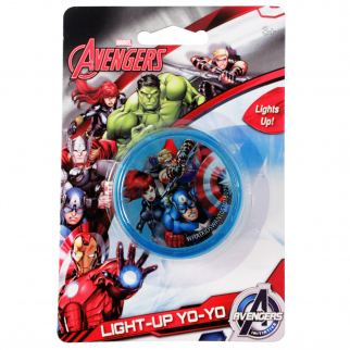Kids Marvel Avengers Light Up LED Yo Yo Toy