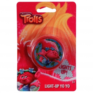 Officially Licensed Trolls Light Up Yo Yo Princess Poppy Girls Toy